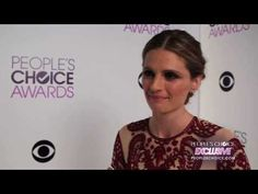 ▶ People's Choice Exclusive: Stana Katic talks about her fans - YouTube