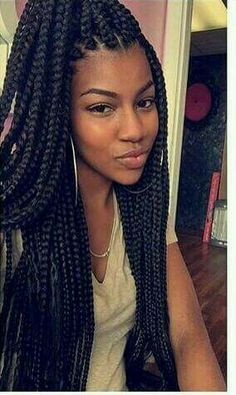Hairstyles With Braids Box Braids Two Tone  Would Love To Be Able To Do This To My Hair