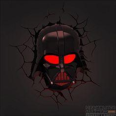 Lampa Ścienna 3DFX Star Wars