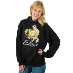 since I practically live in hoodies, its only appropriate that I eventually live in an Elvis hoodie. :) lol