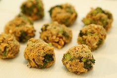 Wholesome Baby Food - Broccoli And Cheddar Cheese Nuggets
