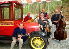 Annapolis Bluegrass Coalition Roger Green guitar lead vocals, Sue Tice fiddle, vocals, Bob Tice banjo, Dan Kimball mandolin, & Jim Duvall bass  Contact: Email: abc@annapolisbluegrass.com