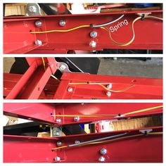 To keep the wires from being pinched when folding/unfolding the trailer I added : harbor freight trailer wiring - yogabreezes.com