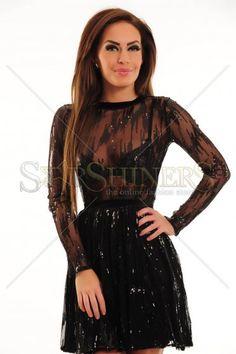 Rochie Ana Radu Ice Attraction Black