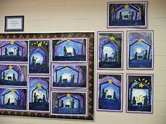 christmas art for grade 4 advent art projects art for grade 4 2nd Grade Christmas Crafts, Christmas Art For Kids, Christmas Ideas, Christmas Activities, Christmas Carol, Advent Art Projects, Christmas Art Projects, 4th Grade Art, Grade 1