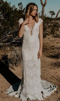 nontraditional wedding dress