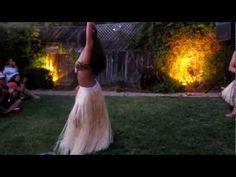 Performing Apaprima 2010 | Leolani #Tahiti #Tahitian #Dance #Dancing #Polynesian #Performance #Island #Tropical #Grass #Skirt #Bra #Leolani
