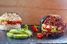Du Japon aux USA : Le sushi burger