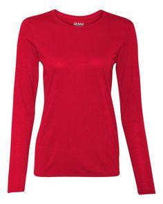 22774a1a79be Gildan - Performance® Ladies  Long Sleeve T-Shirt - 42400L
