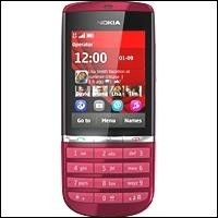 Cellulare nokia asha 300 touch and type red - 114,00€ - SuQui Shopping by alessandro81