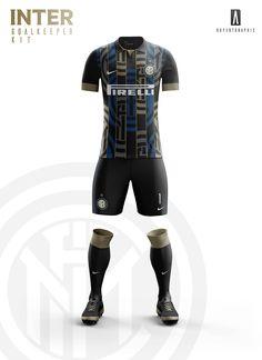 FC Internazionale Goalkeeper Kit 2016-17 | Concept on Behance