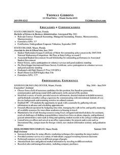 Example College Resumes Magnificent Resume Examples High School  Pinterest  Resume Examples High .