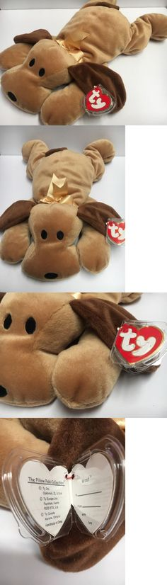 c25447ef395 Pillow Pals 1633  14 Pillow Pals Collection Ty 1994 Woof The Brown Puppy  Dog Plush