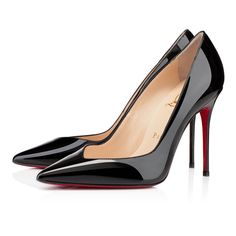 Christian Louboutin Completa Patent leather Pumps 100mm Black