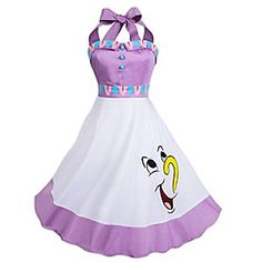 "New Disney Parks ""Chip and Mrs. Potts"" Beauty And The Beast Dress Available Online Disney Dresses For Women, Disney Outfits, Clothes For Women, Disney Clothes, Disney Parks, The Dress, Dress Skirt, Beauty And The Beast Dress, Dapper Day"