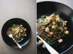 cold sesame cucumber noodles | 4 stars. Tasty. Requires some chopping.