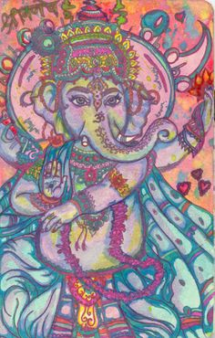 Ganesh, the Lord of Beginnings and Remover of Obstacles.