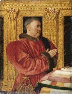 Portrait of Guillaume Jouvenel des Ursins, ca. 1460-1465