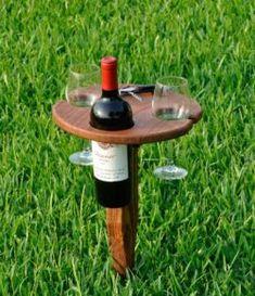 DIY Foldable Wine Caddy