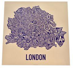 London Ork Poster