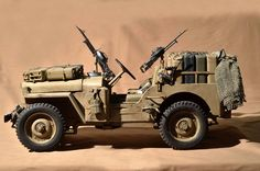 Vehicle used in North Africa by the SAS