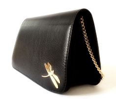 Tara's #leatherbags #handbags #black #dragongly #madeinspain