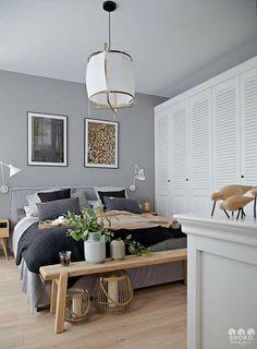 modern Scandinavian home interior design 11 Home Decor Bedroom, Modern Bedroom, Bedroom Ideas, Scandinavian Home Interiors, Scandinavian Kitchen, Scandinavian Design, Couple Bedroom, Bedroom Styles, Modern Interior Design