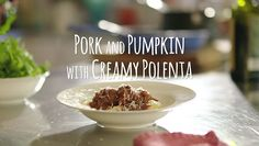Comforting, tasty and easy to make, these meatballs are the ultimate alternative to fast food. Creamy Polenta, Tasty, Yummy Food, Tomato Sauce, Kiwi, Dinners, Alternative, Pork, Cooking Recipes