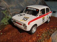 Fiat 850 Abarth TecniToys 6455
