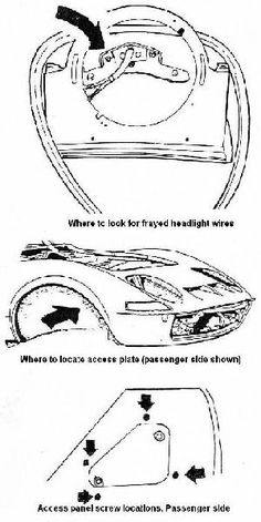 technical drawing 15 opel gt 1900