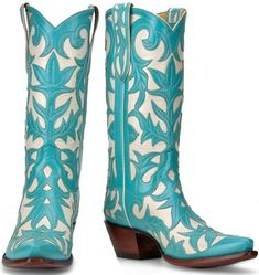 fbfcb6d6 Turquoise Cowboy Boots, Blue Cowboy Boots, Western Boots, Cowboy Hats,  Country Boots