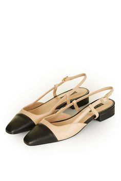 KISS-ME Ballet sling back shoes from #Topshop ... #fashion #shoes