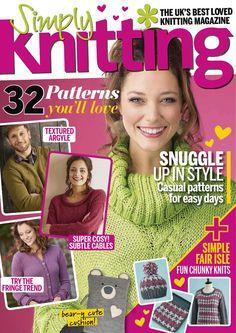 Simply Knitting №155 2017 - 轻描淡写 - 轻描淡写