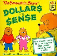 Stan Berenstain & Jan Berenstain - The Berenstain Bears' Dollars and Sense 3rd Grade Social Studies, Teaching Social Studies, Teaching Economics, Teaching Math, Economics For Kids, Berenstain Bears, Thing 1, Financial Literacy, Finance