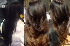 balayage dark hair - Google Search