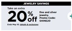 Kohls Coupons: Extra Off Fine and Silver Jewelry Sam's Club Coupons, Kohls Printable Coupons, Books A Million, Online Coupons, Benefit, Silver Jewelry, June, Coding, Patio