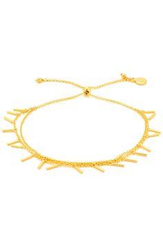 Gorjana Makenzie Fringe Gold Bracelet