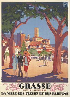 Grasse. 1927 Roger Broders