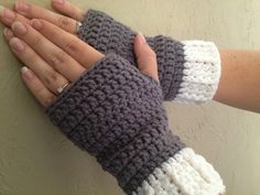 With Love by Jenni: Simple Fingerless Gloves