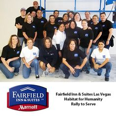 Fairfield Inn & Suites Las Vegas South / Habitat for Humanity Rally to Serve
