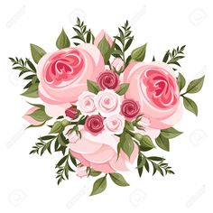 image of english rose vector bouquet of red jpg decoupage rh pinterest com rose vector png rose vector logo