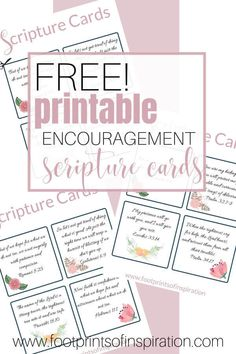 Office home printable Free Printable Encouragement Scripture Cards Printable Scripture, Printable Prayers, Scripture Cards, Scripture Quotes, Printable Cards, Free Printables, Scripture Journal, Prayer Journals, Prayer Cards