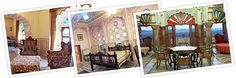 #HotelRajmahalPalace has 15 rooms decorated in Traditional Rajasthani style and shows modern and traditional Indian craftsmanship. All rooms have beautiful riverside garden with a splendid view of Aravali hills. So book a room in heritage hotel and enjoy the royal stay with your friends and family @ http://bit.ly/1ZWgXuf