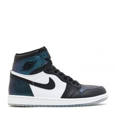 f42931b3282a Air Jordan 1 Retro High Og As All-Star Chameleon Black Black Metallic  Silver 907958 015