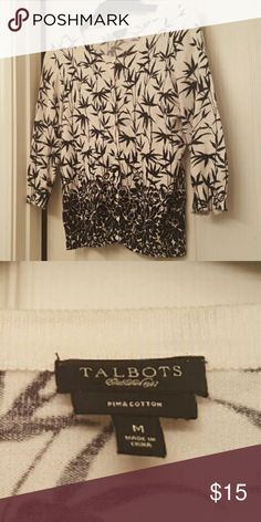 CardiganTalbots Perfect Condition Talbots Tops Button Down Shirts