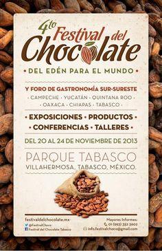 Porque el chocolate tiene su reconocimiento en México, conoce la evolución del cacao y el chocolate utilizado ancestralmente en México. El evento será del 20 al 24 de noviembre, en el Parque Tabasco.