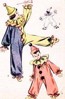 Advance 707 Childrens Costume Sewing Pattern Girls or Boys Clown Size Small Breast 21-23 Vintage Advance http://www.amazon.com/dp/B00LDV5MQW/ref=cm_sw_r_pi_dp_vUCStb1E5AE6ER7Y