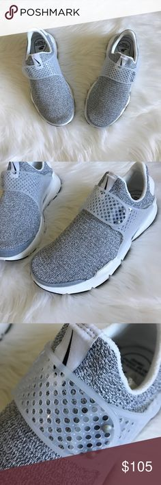 Nike Sock Dart SE New Nike Sock Dart SE in grey/white. Really cute & a comfortable shoe- comes in a half box. Nike Shoes Athletic Shoes