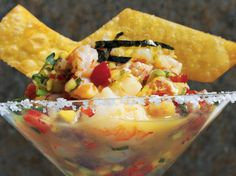 Roy's Ahi and Shrimp Ceviche Recipe   Foodland