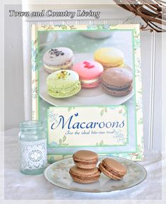 Success with First Attempt at French Macaron Recipe - Town  Country Living
